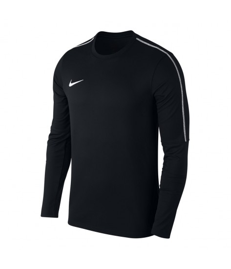 Nike Park 18 Drill Top Crew - Black / White