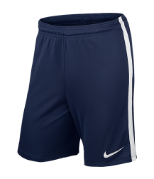 Nike League Knit Short - Midnight Navy / White