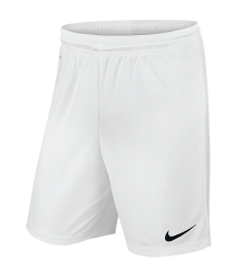 Nike Park II Knit Short - White (With Lining)