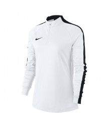 Nike Women's Academy 18 Drill Top - White / Black