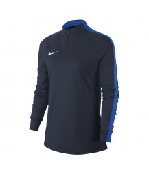 Nike Women's Academy 18 Drill Top - Obsidian / Royal Blue