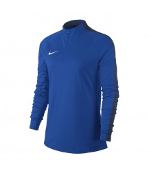 Nike Women's Academy 18 Drill Top - Royal Blue / Obsidian