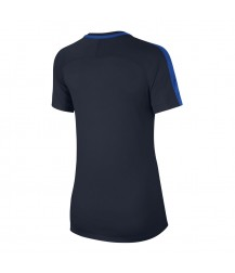 Nike Women's Academy Training Top - Obsidian / Royal Blue