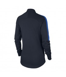Nike Women's Academy Knit Track Jacket - Obsidian / Royal Blue
