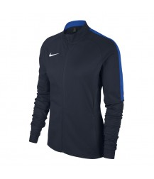 Nike Women's Academy 18 Knit Track Jacket - Obsidian / Royal Blue