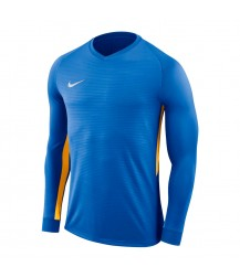 Nike Tiempo Premier LS Jersey - Royal Blue/University Gold