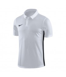 Nike Academy 18 Polo - White / Black