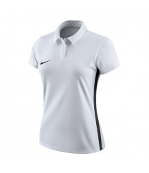 Nike Women's Academy 18 Polo - White / Black