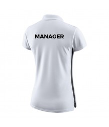 Energie Managers Womens Nike Polo - White