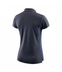 Nike Women's Academy Polo - Obsidian / Royal Blue