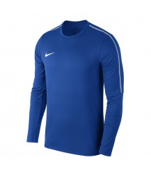Nike Park 18 Drill Top Crew - Royal Blue / White