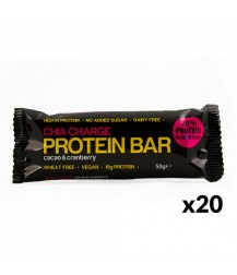 Chia Charge Protein Bar - 20 x 50g Bars