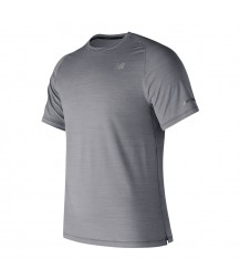 New Balance Seasonless Short Sleeve - Athletic Grey