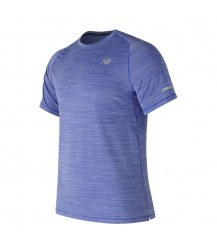 New Balance Seasonless Short Sleeve - Pacific Heather